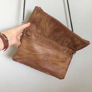 Deux Lux Bags - EUC Clutch with removable strap